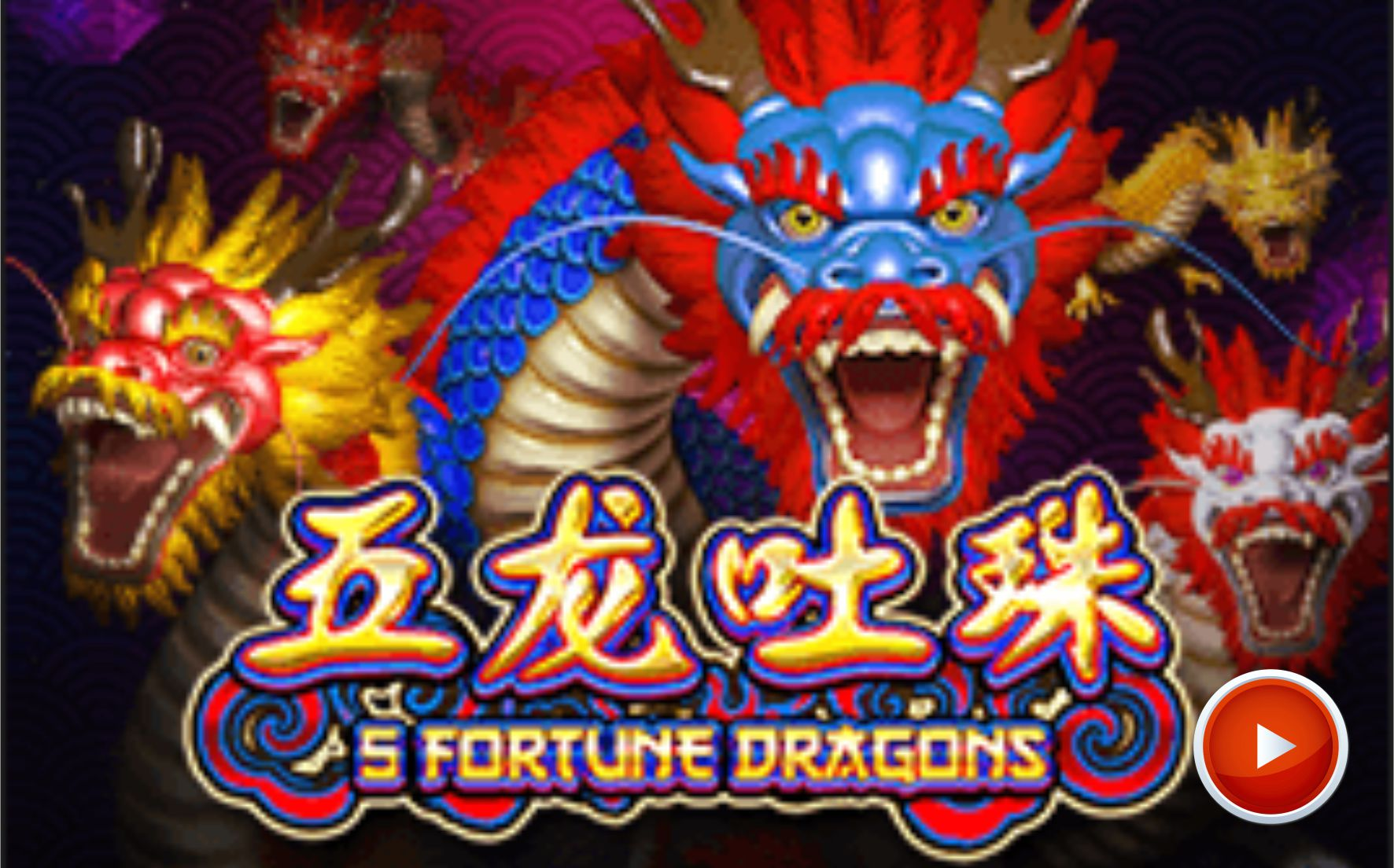 5 fortune dragons